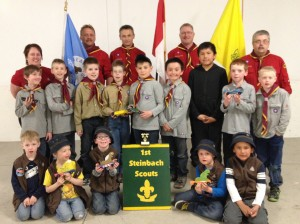 1st Steinbach Scouts and Beavers